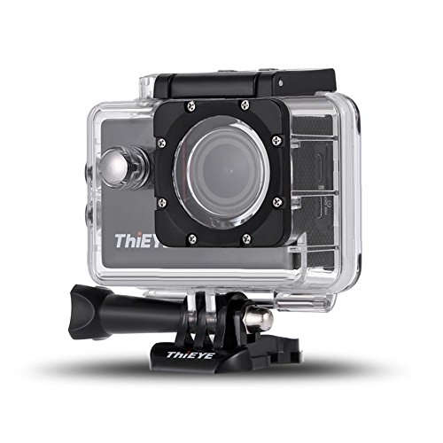 Sports Camera 4K aquatic diving 1080P Full HD 2.0 LCD Waterproof WiFi Batteries 1050mAh Submersible 60m Degrees Great Angle, for Sports and Activities, Diving, Swimming, Running, Cycling, etc. by Seatechlogy