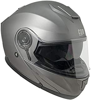 Homyl Casco Aperto 3//4 Modulare Ribaltabile Antigraffio Accessorio Moto Scooter Bianco XXL