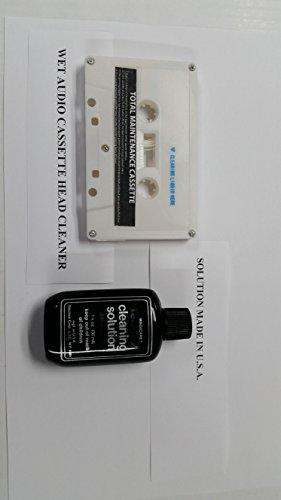 Cassette Tape Player Head & Ca