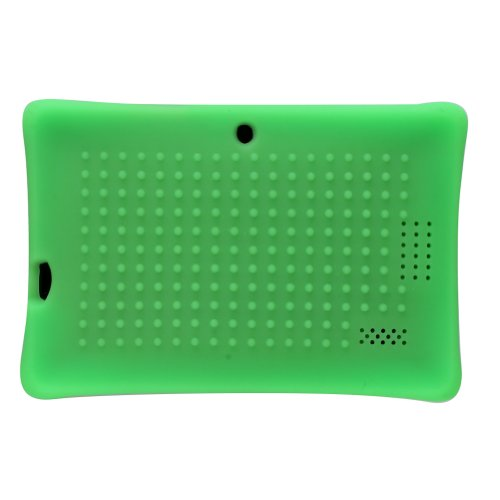 IKASEFU (TM) Defender Series Silicone 7 inch Android Tablet Back Cover case Compatible with 7