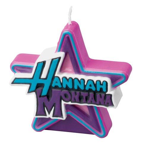 Wilton Hannah Montana Candle