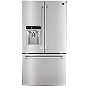 Kenmore PRO 79993 23.7 cu. ft. Counter-Depth French Door Bottom freezer Refrigerator in Stainless Steel, includes delivery and hookup
