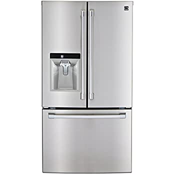 Kenmore PRO 79993 23.7 Cu. Ft. Counter Depth French Door Bottom Freezer  Refrigerator In Stainless Steel, Includes Delivery And Hookup
