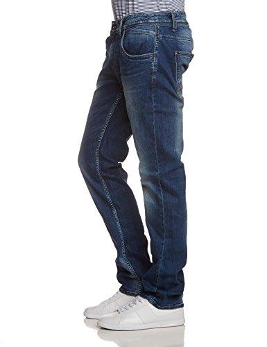 Pantolon 1456 Garcia Blu med Straight blau Da Russo Used Uomo q1C57
