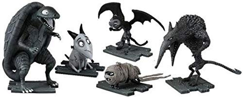 The Bridge Direct Sparky (After Life) Wererat, Turtle Monster, Vampire Cat, Hamster Mummy Collector Figure Pack]()