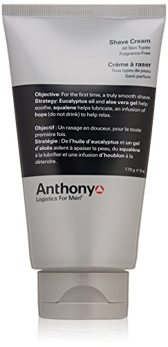 Anthony Logistics for Men Crème à raser, 6 fl. oz