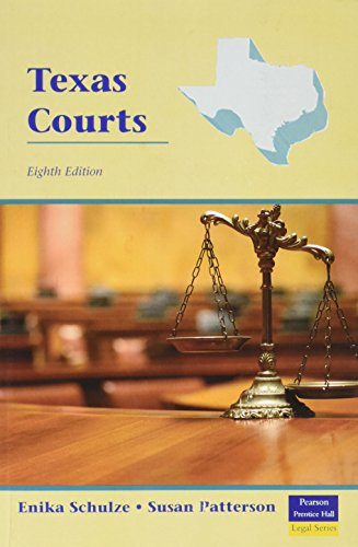 Texas Courts (8th Edition)