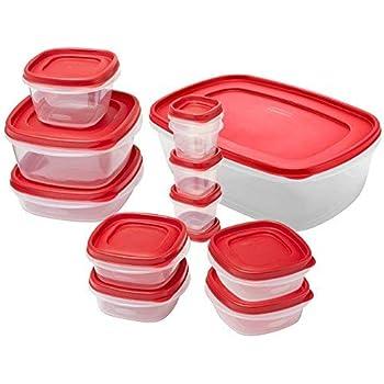 Amazon.com: Rubbermaid Easy Find Lids Food Storage