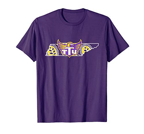 Tennessee Tech Golden Eagles Paisley State T-Shirt - Apparel