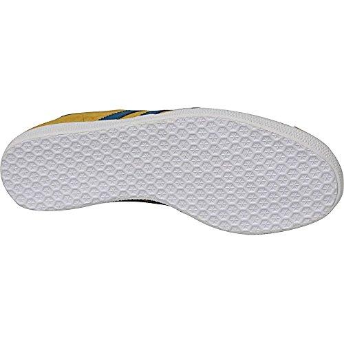 da Scarpe Gazelle – Blu Basse Ginnastica Unisex adidas Adulto Giallo wEZq5Sw