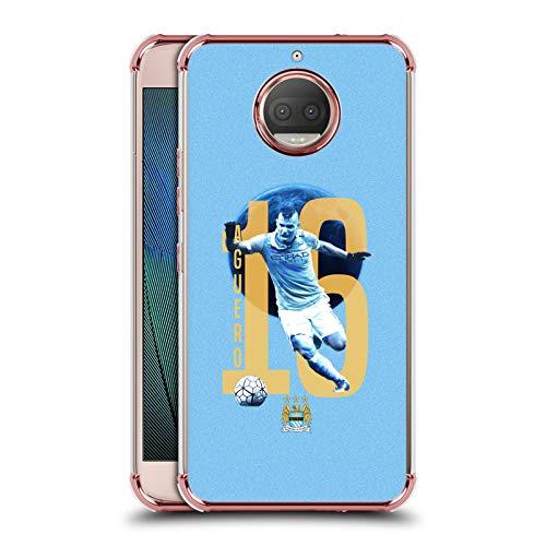 - Official Manchester City Man City FC Sergio Kun Agüero Players Rose Shockproof Fender Case for Motorola Moto G5S Plus