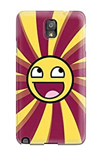 New ZippyDoritEduard Super Strong Smiley Tpu Case Cover For Galaxy Note 3