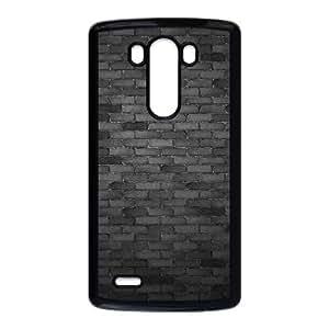 Black wall LG G3 Cell Phone Case Black AMS0642120