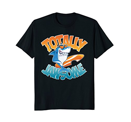 Kids Shark Tshirt – Cool Totally Jawsome Gift Tee Apparel