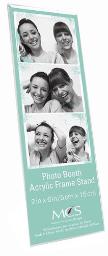 MCS PHOTO BOOTH MAGNETIC acrylic frames Our price is for 3 units - (Cheap Photo Booth Frames)