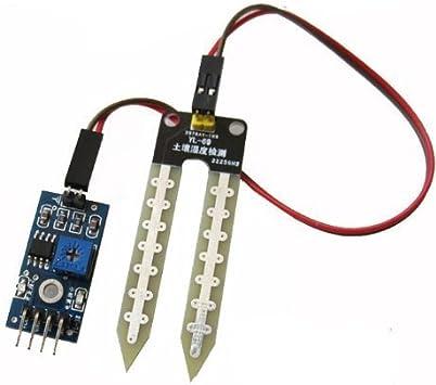 2PCS Soil Humidity Hygrometer Sensor Module Moisture Detection For Arduino AVFLA
