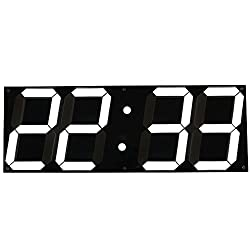 Mochiglory Jumbo Digital LED Wall Clock Multi Functional Countdown Timer with Remote Control Temperature Date for Office/Home/Airport/Gymnasium