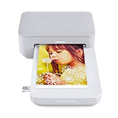 Make more of your memories with your own personal photo lab—the compact HP sprocket Studio turns every fun-filled moment into beautiful, frame-worthy color prints that LAST. Download the free HP sprocket app to get easy-to-use photo templates...