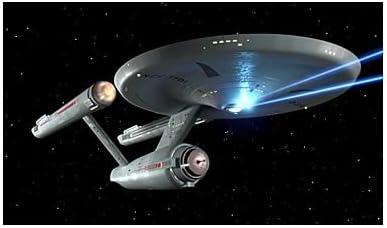 Roddenberry Star Trek TOS Enterprise NCC-1701 Firing Phasers 3D-Druck