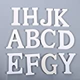 Messagee DIY Wooden Alphabet Letters Plaque Wall