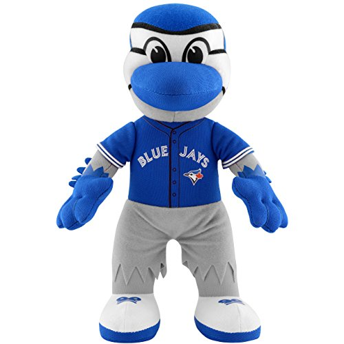 MLB Toronto Blue Jays Kids Ace Mascot Plush Figure, 10