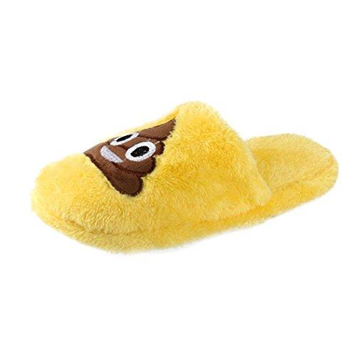 Women Wool Slippers,Toponly Unisex Warm Cozy