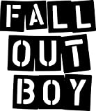 Fall Out Boy Rock Band Vinyl Decal Sticker- 6