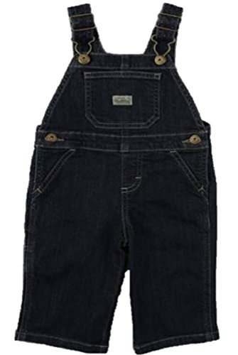 Denim Boys Overall Baby - Wrangler Baby Boy's My First Denim Overalls (6/9M)