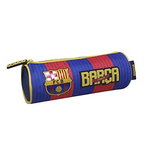 Coloriage Football Fcb.Fc Barcelona Pencil Case Cylinder Football Fc Barcelona Amazon Co