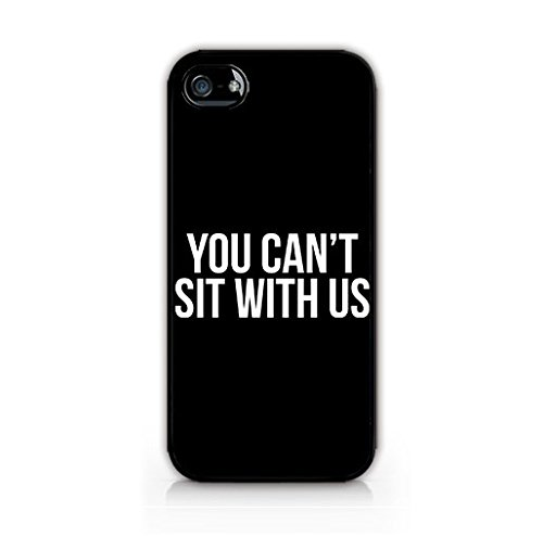 Cream cookies Compatible for iPhone 8 Plus TPU Plastic Case - You Cant Sit with Us - Love Quote - Funny Quote - Cute Quote - Teenager Gifts (Funny Quote Iphone 4 Case)