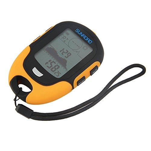 Multifunctional FR500 Portable Digital Altimeter Outdoor Use Barometer Device by SINNAYEO
