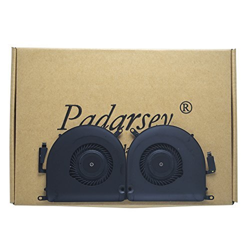 Padarsey Replacement CPU Cooling Fan Left and Right Set for 15