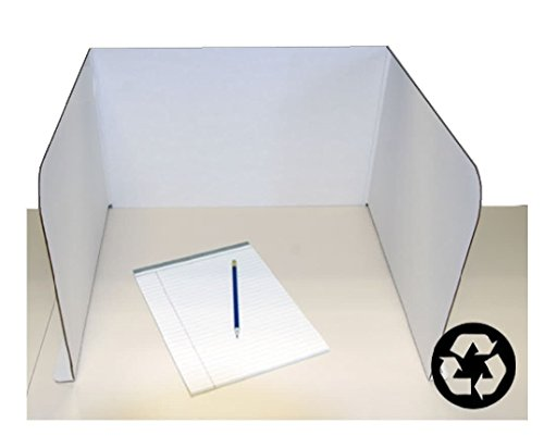 rel/Desktop Privacy Shield (H12 x L55 in; Pack of 24) - ONLY $3.33 each (Desktop Carrel)