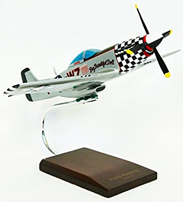 """Mastercraft Collection North American Plane Mustang w/Rolls-Royce Engine P-51D Mustang """"Big Beautiful Doll"""" Model Scale:1/32"""