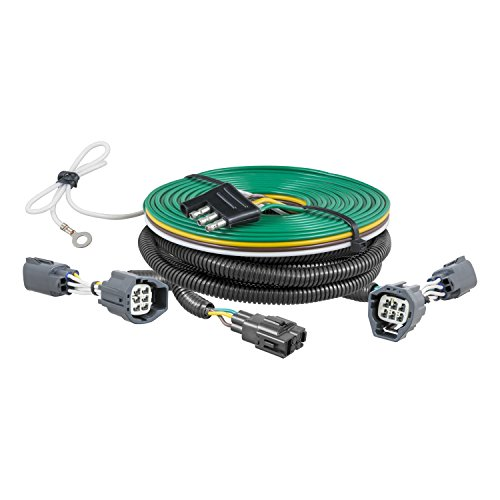 Curt Manufacturing 58903 Black Towed-Vehicle RV Harness by Curt Manufacturing