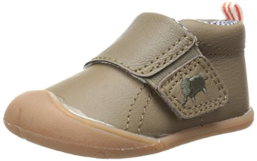 Carter's Every Step Stage 1 Boy's Crawling Shoe, Andy(Infant), Brown, 3 M US Infant (Baby Boy Shoes Clearance)