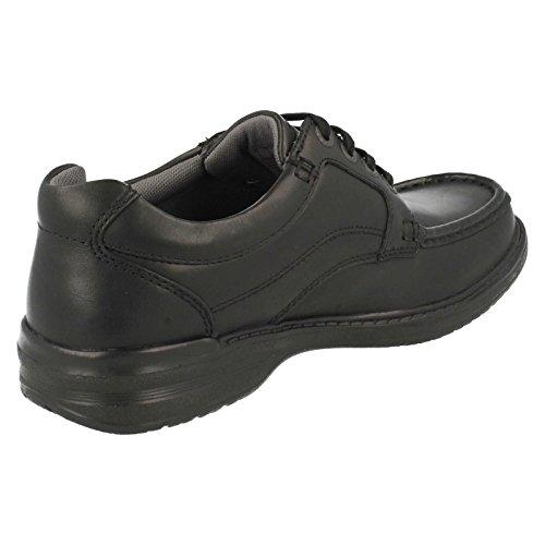 Clarks Keeler Walk Black Leather 10 UK H / 44½ EU