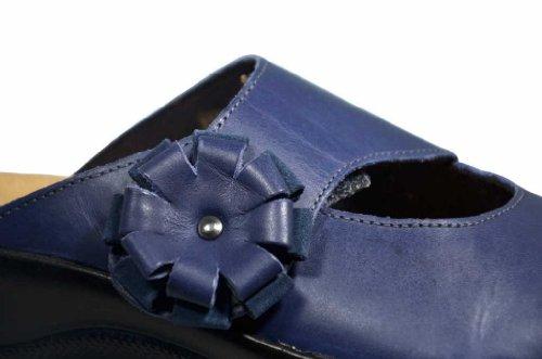 Pour 5004 Mules Bleu Femme 54 Rohde qYZxwCn