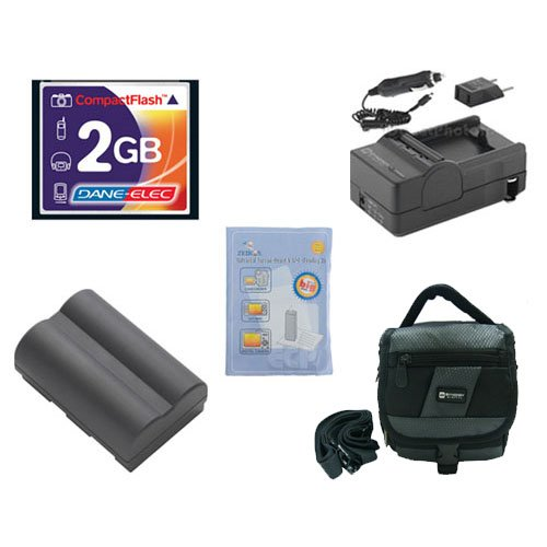 (Canon Powershot G1 Digital Camera Accessory Kit includes: SDBP511 Battery, T44654 Memory Card, SDM-116 Charger, SDC-27 Case, ZELCKSG Care & Cleaning)