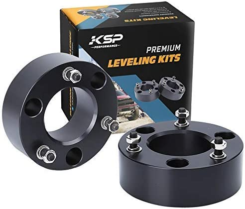 Leveling Lift Kits for F150 KSP Strut Spacers 3 Front Lift Kit For 2004-2019 F150 Front Strut Spacers Raise the Front Of Your F150 3 Inch