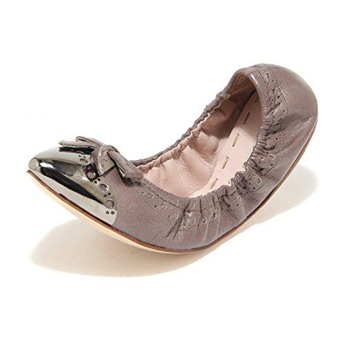 Women Shoes Donna Ballerine Miu Scarpe Tortora 8158l Twaqpx4gxZ