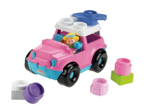 Little People Builders - Fisher-Price Little People Builders Build 'n Drive SUV