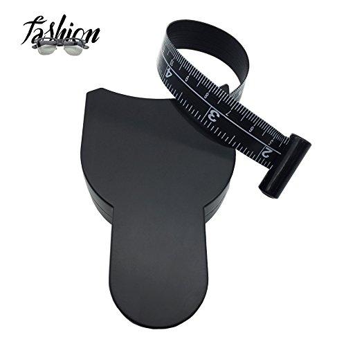 Tape Measure Body Measuring Tape for Body Fat Measurements Retractable 60 Inch 150 CM Black