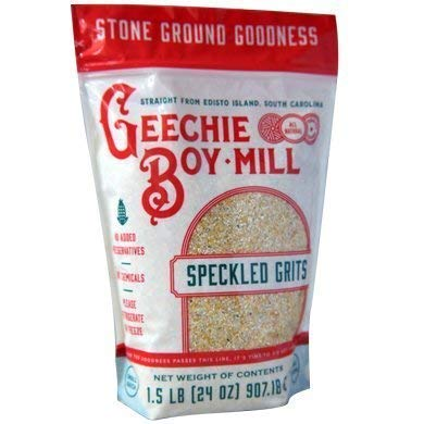 GEECHIE BOY MILL Speckled Grits, 24 OZ