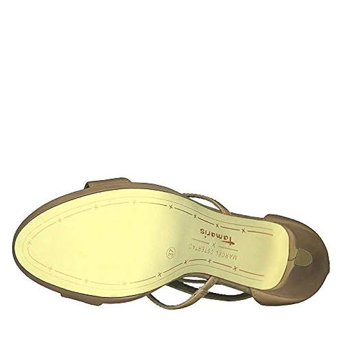 Scarpe E Borse Da Donna Sandali Tamaris Sandalo 28340 Cipria
