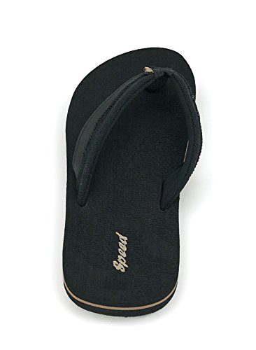 Just Speed Flip-Flops Sandals Eagle Cool Soft Slide On Summer Comfortable Light Casual Travel Vacation Sand Pool Indoors (13, Grey) by Just Speed (Image #3)