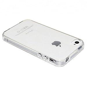c51f27af5fc Electrónica Rey Funda Carcasa Gel Transparente para iPhone 4 4S Ultra Fina  0 – Util buen precio