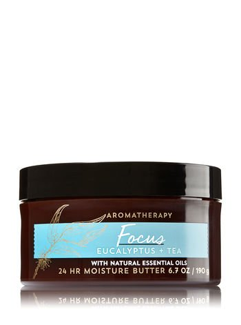 Bath & Body Works Aromatherapy Focus - Eucalyptus & Tea Body Butter (6.7 oz)