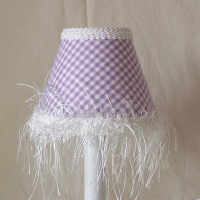 Silly Bear Lighting Lavender Love Chandelier Shade, Purple