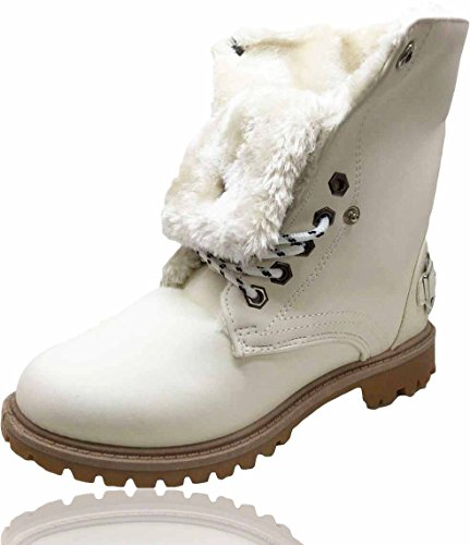 RoMaAn'S FaShIoN para Zapatillas blanco Mujer IDeal ZgZrqpTw